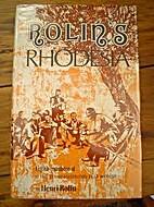 Rolin's Rhodesia by Henri Rolin