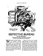 Defective Bureau by Joe Archibald