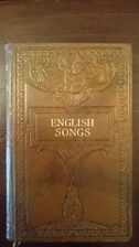 English Songs and Ballads by T. W. H.…