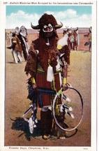 Buffalo Medicine Man ….