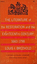 The literature of the Restoration and the…