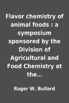 Flavor chemistry of animal foods : a…