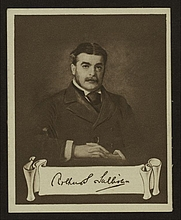Author photo. Cigarette card (Courtesy of the <a href=&quot;http://digitalgallery.nypl.org/nypldigital/id?1204134&quot;>NYPL Digital Gallery</a>; image use requires permission from the New York Public Library)