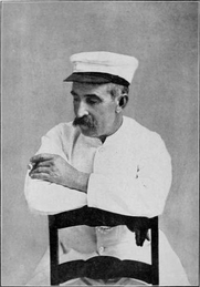 Author photo. Image from <b><i>Notes from my South Sea log</i></b> (1905) by Louis Becke