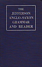 The Jefferson Anglo-Saxon grammar and…