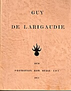 Guy de LARIGAUDIE - Promotion EOR by…