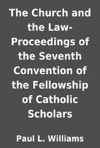 The Church and the Law- Proceedings of the…