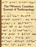 The Western Canadian Journal of Anthropology…