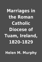 Marriages in the Roman Catholic Diocese of…