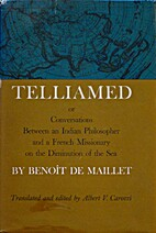 Telliamed; or, Conversations between an…