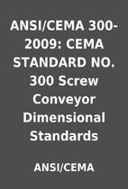 ANSI/CEMA 300-2009: CEMA STANDARD NO. 300…