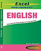 Excel preliminary English by David Mahony