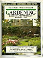 The Concise Encyclopaedia of Garden Plants…
