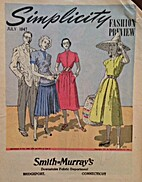 Simplicity Fashion Preview, 1947 July by…