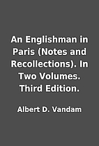 An Englishman in Paris (Notes and…