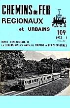 Chemins de Fer Régionaux et Urbains n°109…
