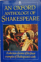 An Oxford Anthology of Shakespeare by…