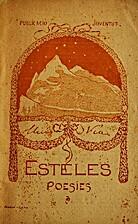 Esteles : poesíes by Lluís Via