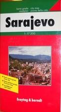 (Bosnia) Sarajevo Map by Freytag & Berndt
