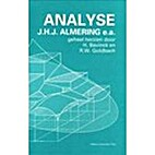 Analyse by J.H.J. Almering