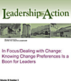 In Focus/Dealing with Change: Knowing Change…