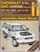 Chevrolet S-10 & Blazer Gmc Sonoma & Jimmy…