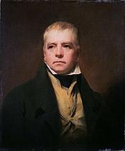 Author photo. Painting by Sir Henry Raeburn - Portrait of Sir Walter Scott (Wikipedia)