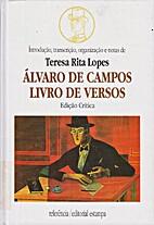 Álvaro de Campos - Livro de Versos by…