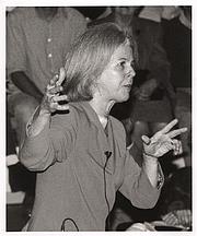 Author photo. Elaine Hiesey Pagels, Harrington Spear Paine Foundation Professor of Religion, Princeton University. Photo by Denise Applewhite, 1996 (photo courtesy of Princeton University)