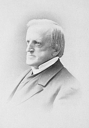 Author photo. Image from <b><i>Memorial collection of sermons by Edwards A. Park</i></b> (1902)