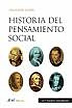 Historia del pensamiento social by Salvador…