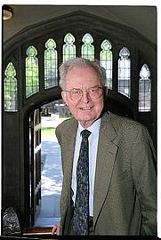 Author photo. Prof. Earl Miner, 1926-2004 (photo courtesy of Princeton University)