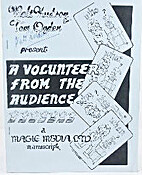 A Volunteer from the Audience by Walt Hudson