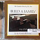 Build A Family [CD] by Ed & Karen Bolduc