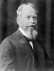 Author photo. Photograph of German philosopher Edmund Husserl (1859—1938)