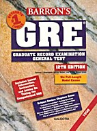 Barron's GRE: How to Prepare for the…