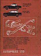 Triumph Spitfire, Vitesse, 1962-68 AutoBook…