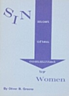 Sin Most Often Committed By Women by Oliver…