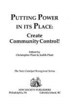 Putting Power in Its Place: Create Community…