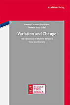 Variation and Change. The Dynamics of…
