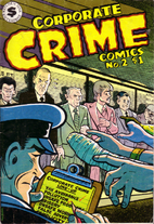 Corporate Crime Comics #2 by Leonard Rifas