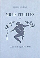 Mille feuilles by Georges Borgeaud