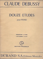 Douze Etudes - piano - (HN 390) by Claude…