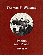 Poems And Prose 1966-1979 by Thomas F.…