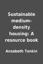 Sustainable medium-density housing: A…