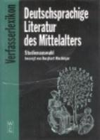 Deutschsprachige Literatur des Mittelalters…