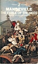 The Fable of the Bees by Bernard Mandeville