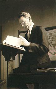 Author photo. Photo of Cornelius Van Til from The Works of Cornelius Van Til, 1895-1987, CD-ROM (New York: Labels Army Co., 1997), ISBN 0875524613