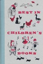 Best in Children's Books 03 by Mary MacNab