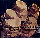 Deckenskulptur im Frankfurter Theaterfoyer…